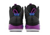 Баскетбольные кроссовки Nike Hyperdunk X Black/Violet - Фото 5
