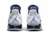 Баскетбольные кроссовки Air Jordan IV Retro Columbia - Фото 3