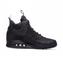 Кроссовки Nike Air Max 90 SneakerBoot Winter Triple Black