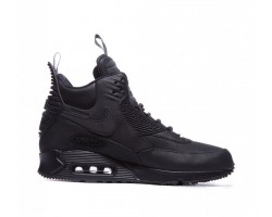 Кроссовки Nike Air Max 90 SneakerBoot Winter Triple Black