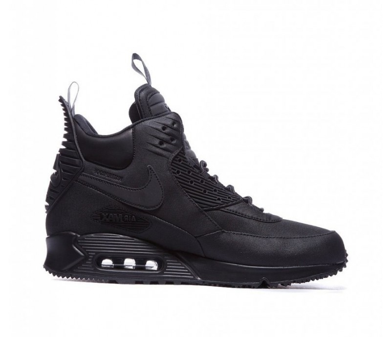 7a843fd1 Кроссовки Nike Air Max 90 SneakerBoot Winter Triple Black купить в ...