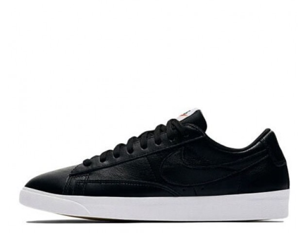 Кроссовки Nike Blazer Low Leather Black