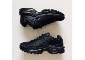 Кроссовки Nike Air Max TN Plus All Black - Фото 7