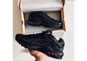 Кроссовки Nike Air Max TN Plus All Black - Фото 3