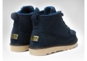 UGG David Beckham Boots Dark Blue - Фото 3