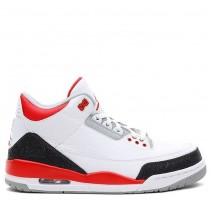 Баскетбольные кроссовки Air Jordan 3 Fire Red