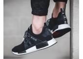 Кроссовки Adidas NMD XR1 MMJ Mastermind Black - Фото 4