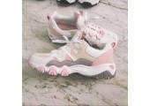 Кроссовки Skechers DLites 2 White/Pink/Beige - Фото 2