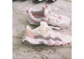 Кроссовки Skechers DLites 2 White/Pink/Beige - Фото 3