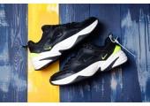 Кроссовки Nike M2K Tekno Black/Lemon Green - Фото 1