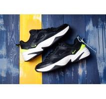 Кроссовки Nike M2K Tekno Black/Lemon Green