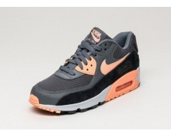 Кроссовки Nike Air Max 90 Essential Dark Grey/Sunset Glow-Pure Platinum