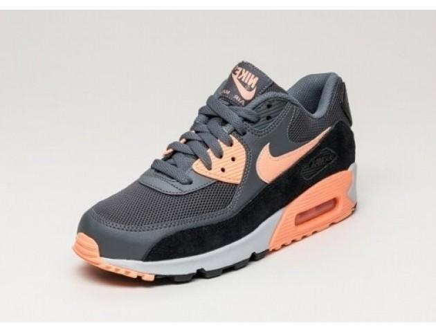 Кроссовки Nike Air Max 90 Essential Dark Grey/Sunset Glow-Pure Platinum