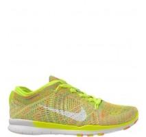 Кроссовки Nike Free TR Fit Flyknit Yellow-Green