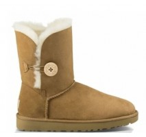 UGG BAILEY BUTTON II BOOT CHESTNUT