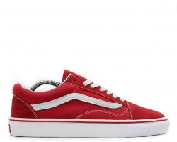 Кеды Vans Old Skool Red/White