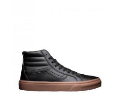 Кеды Vans Gum Leather Sk8-Hi Classic Black