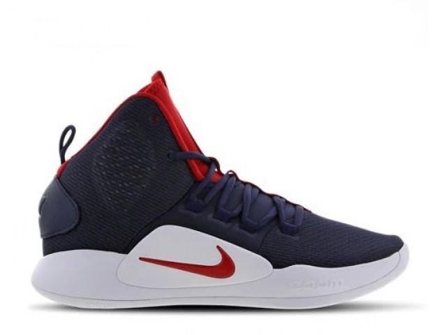 Баскетбольные кроссовки Nike Hyperdunk X Navy/Red