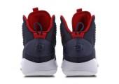 Баскетбольные кроссовки Nike Hyperdunk X Navy/Red - Фото 5