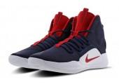 Баскетбольные кроссовки Nike Hyperdunk X Navy/Red - Фото 6