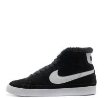 Кроссовки Nike Dunk Hight Black С МЕХОМ