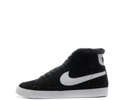Кроссовки Nike Dunk Hight Black С МЕХОМ
