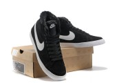 Кроссовки Nike Dunk Hight Black С МЕХОМ - Фото 3