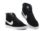 Кроссовки Nike Dunk Hight Black С МЕХОМ - Фото 9