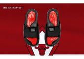 Шлепанцы Air Jordan Hydro XI Black/Red - Фото 3