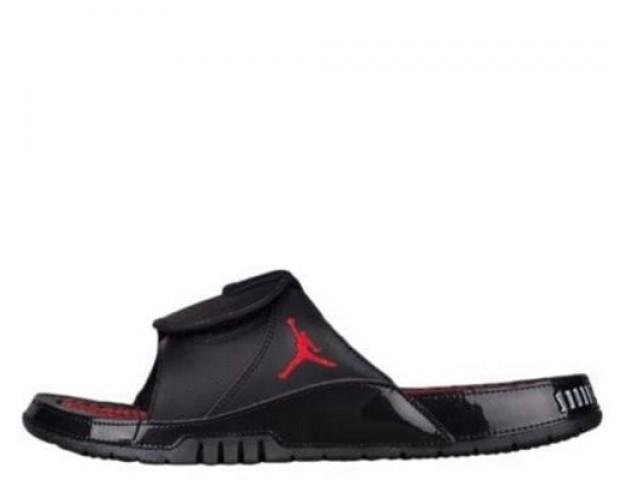 Шлепанцы Air Jordan Hydro XI Black/Red