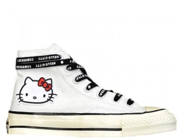 Кеды Converse x Hello Kitty 2.0 White