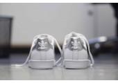 Кроссовки Adidas Superstar White Silver - Фото 6