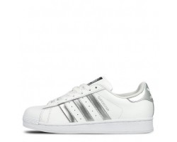 Кроссовки Adidas Superstar White Silver