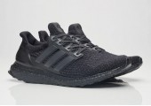 Кроссовки Adidas Ultra Boost 3.0 Triple Black - Фото 1