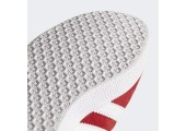 Кроссовки Adidas Gazelle Scarlet/White/Gold - Фото 9
