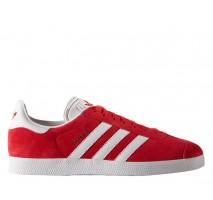 Кроссовки Adidas Gazelle Scarlet/White/Gold