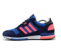 Кроссовки Adidas ZX 700 Navy/Light Blue/Rose