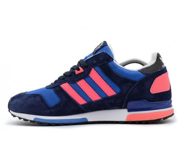 Кроссовки Adidas ZX 700 Navy/Light Blue/Rose