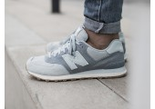 Кроссовки New Balance ML 574 Light Porcelain Blue - Фото 2