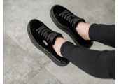 Кроссовки Puma x Rihanna Fenty Creeper Velvet Royal Black - Фото 2