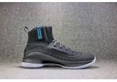 Баскетбольные кроссовки Under Armour Curry 4 Grey - Фото 5