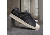 Кроссовки Adidas SS80V Superstar UNDFTD X Bape Black - Фото 1