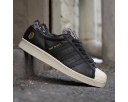 Кроссовки Adidas SS80V Superstar UNDFTD X Bape Black