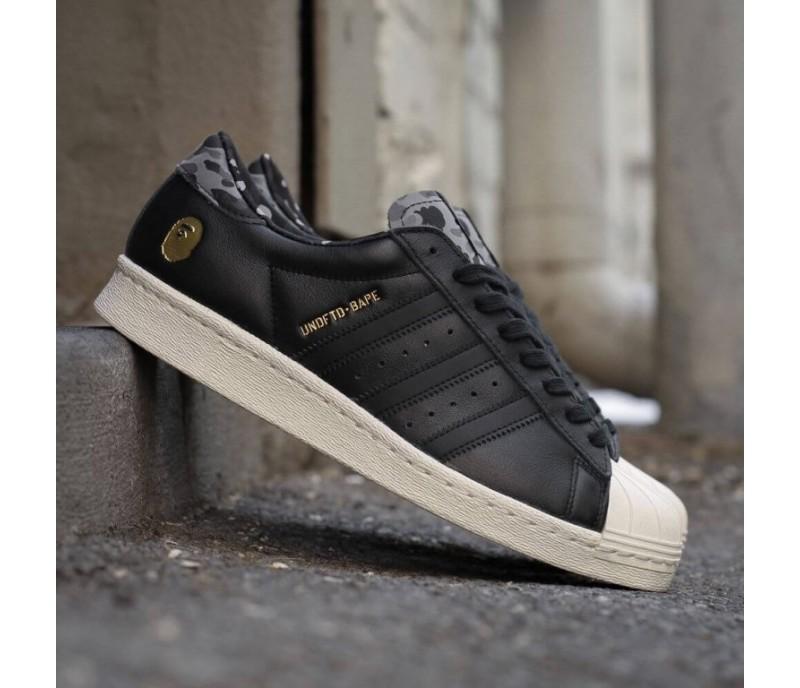 кроссовки Adidas Ss80v Superstar Undftd X Bape Black купить в киеве