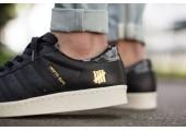 Кроссовки Adidas SS80V Superstar UNDFTD X Bape Black - Фото 2