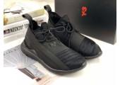Кроссовки Adidas Y-3 Qasa Elle Lace 2.0 Black - Фото 4