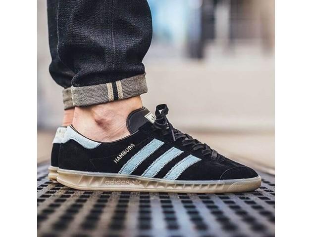 Кроссовки Adidas Originals Hamburg Black