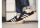 Кроссовки Adidas Originals Hamburg Black - Фото 3