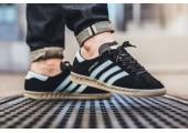 Кроссовки Adidas Originals Hamburg Black - Фото 4