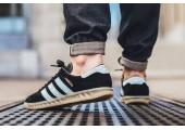 Кроссовки Adidas Originals Hamburg Black - Фото 7